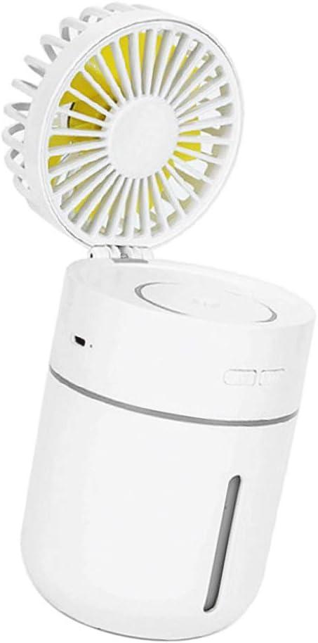 LOVIVER Ventilador con Agua Pulverizada, Ventilador Sobremesa ...