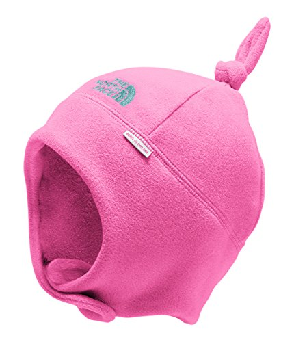 (The North Face Baby Nugget Beanie - Azalea Pink & Mint Blue - XS)