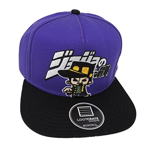 JoJo's Bizarre Adventure Snapback Hat - Loot Crate Anime Exclusive (March - Exclusive Snapbacks