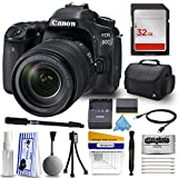 "Canon EOS 80D DSLR Digital Camera with EFS 18-135mm IS USM Lens Starter Kit + 32GB SD Card + Deluxe Case + 67"" Monopod + Care Kit + Cleaning Pen + HDMI Mini Cable + More Accessories"
