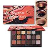 Matte Eyeshadow Palette Pro 18 Colors Highly Pigmented Shimmer Eye Shadow Palette Blendable Long Lasting Waterproof Makeup Cosmetics (01# Seductress)