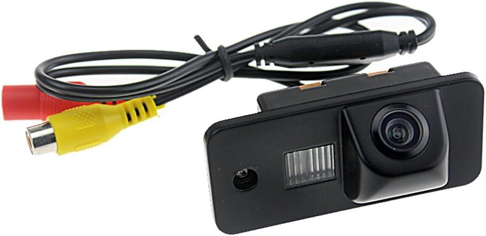 Kalakass Impermeabile Ad Alta Definizione Fotocamera HD CCD Macchina Fotografica di Retrovisione con Angolo di Visione di 170 Gradi Retrocamera per A3 A4 A5 A6 A6L A8 Q7 S4 RS4 S5 TT