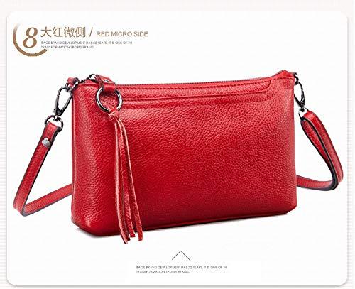 Shoulder bag messenger bag red