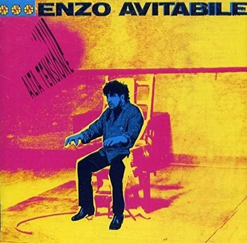 "Enzo Avitabile ""Alta tensione"" LP COSTA EST EMI 64 7906381 Italy 1988"