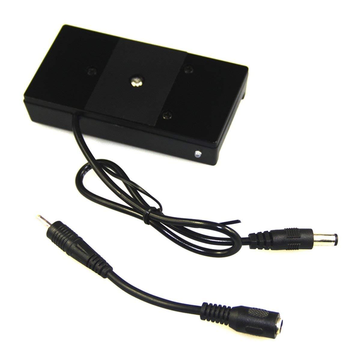 JullyeleDEgant Kamera-Batterie-Bergplatten-Stromversorgung hohe hohe hohe Kompatibilität 4K BMPCC für Sony F-970 Reihen-Batterien schwarz 689ffc
