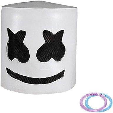 DJ Mask Full Head Helmet Halloween Cosplay Mask Bar Music Props MarshMello US