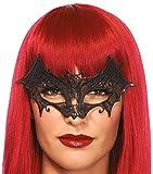 Leg Avenue Women's Vampire Eye Mask Costume Accessory, Black, One Size