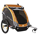 Burley Design D'Lite Child Bike Trailer, Orange