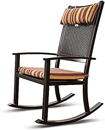 Rocking Chair Fauteuil A Bascule Health Uk En Osier Et Rotin