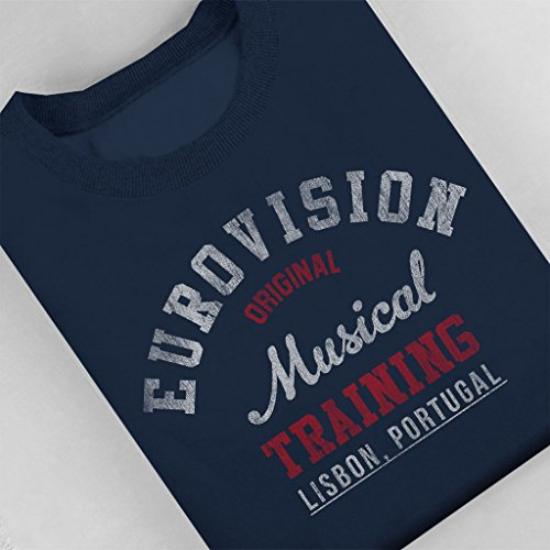 Eurovision Women's Navy Music Blue Training Sweatshirt Coto7 Portugal dInHwqnO