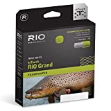RIO Fly Fishing Fly Line InTouch-Grand Wf5F Fishing Line, Green-Gray-Yellow