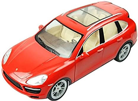 Auld Eytoys LC258120 – Porsche Cayenne Turbo S, Vehicle, Red