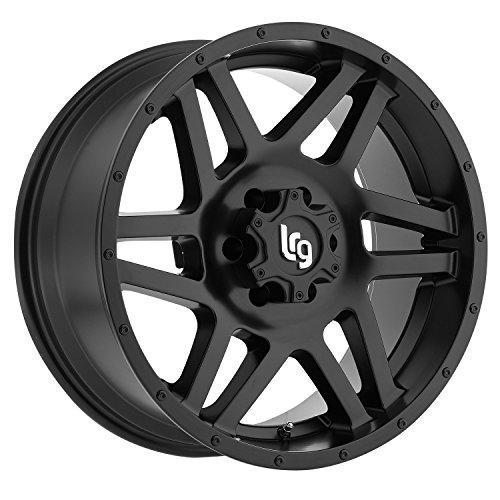 LRG Rims LRG111 Classico Satin Black Wheel with Machined Face (20x12