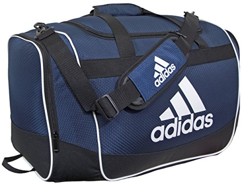 adidas Defender II Duffel Bag (Medium), Collegiate Navy, 13 x 24 x 12-Inch