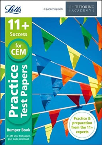 Letts 11+ Success ?? 11+ Practice Test Papers Bumper Book, Inc. Audio Download: For The CEM Tests by The 11 Plus Tutoring Academy (2015-07-01)