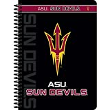 """C.R. Gibson Personal Spiral Notebook, College Ruled, Licensed By NCAA, Measures 5"""" x 7"""" - Arizona State Sun Devils"""