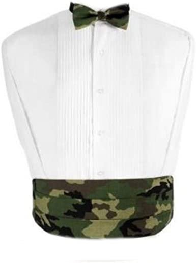 Camouflage Cummerbund and Bow Tie Set