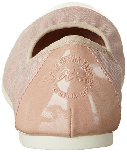 s.Oliver 22118, Bailarinas para Mujer Rosa (ROSE COMB 592)