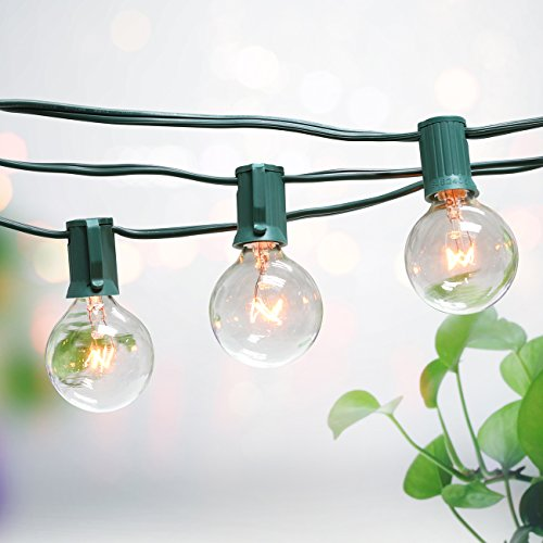 100 Ft Outdoor Globe String Lights - 7
