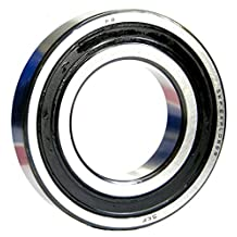 SKF 6009-2RS1 Deep Groove Ball Bearing, Double Sealed, Steel Cage, Normal Clearance, 45mm Bore , 75mm OD, 16mm Width