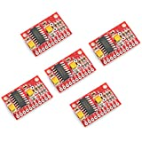 Optimus Electric 5pcs 2-Channel Audio Amplifier Module Board with 3W Output Power Each Channel and PAM8403 Amplifying Chip for MP3 and MP4 Players from