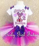Abby Cadabby Birthday Outfit Tutu Set Sesame Street