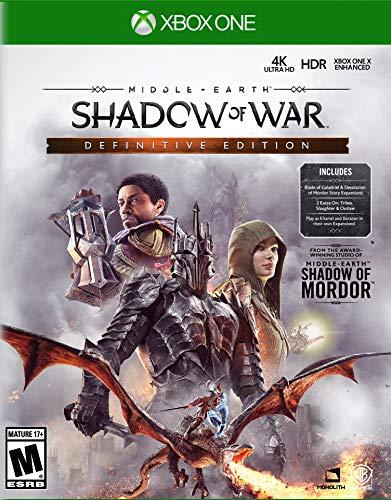 Middle-Earth: Shadow of War Definitive Edition - Xbox One (War Xbox)