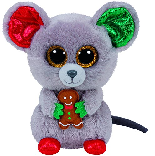 15d13b899a9 Galleon - TY Beanie Boo Plush - Mac The Mouse 15cm (Christmas Exclusive)