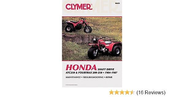 clymer honda atc250 & fourtrax 200-250, 1984-1987: maintenance
