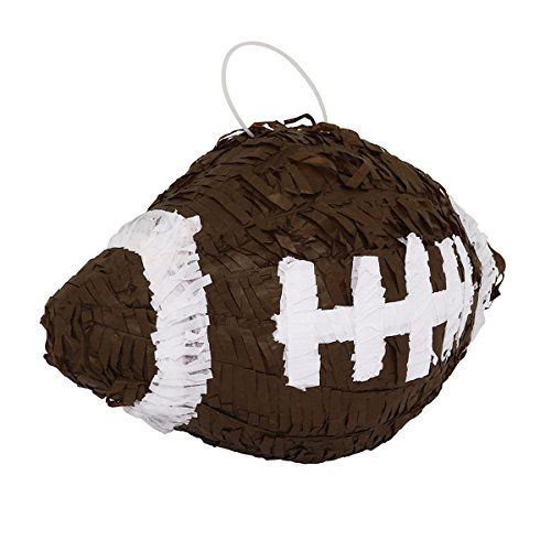 LYTIO – Realistic Brown Football Pinata (Piñata) – Ideal for Sports, NFL, Football Parties, Décor, Photo Prop and Center Piece. (Photo Nfl Football)