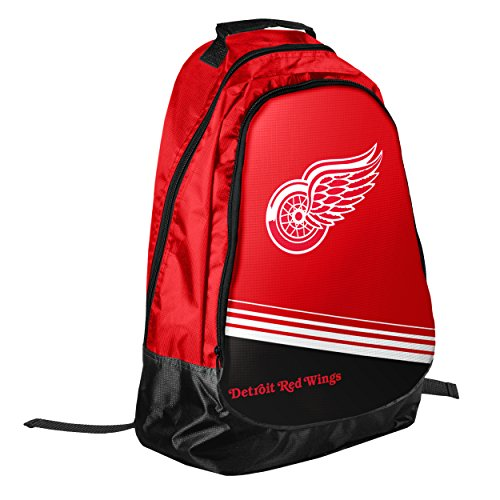 Forever Collectibles NHL Detroit Red Wings 2015 Stripe Core Backpack, Red