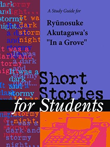 Critical essay of in a grove