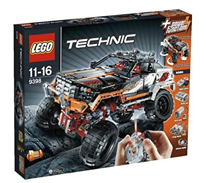 Amazon Lego Technic 9398 4 X 4 Crawler Discontinued By