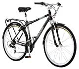 Best City Bike Men's - Schwinn Discover Men's Hybrid Bike (700C Wheels),Black Review