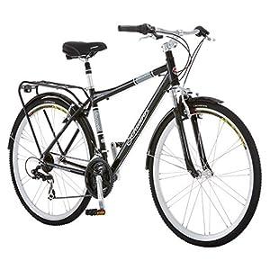 sixthreezero Pave n Trail Mens 21-Speed Hybrid Road Bicycle Matte Black 26 Wheels// 18 Frame