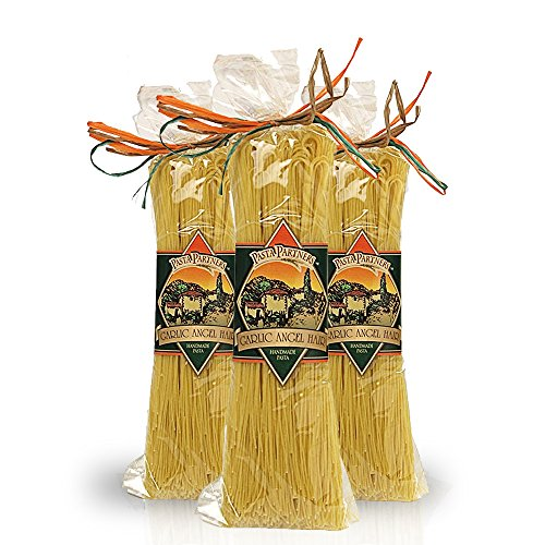 Intermountain Pasta Flavored Pasta Garlic Angel Hair Certified Kosher - 3 pack (Pasta Partners Garlic Angel Hair compare prices)