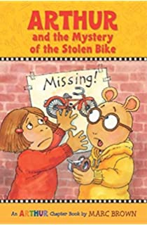 Arthur And The Mystery Of Stolen Bike Marc Brown Chapter Books Paperback