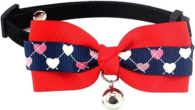 Minsa Collar de Pajarita para Mascota con Campana, Pajarita para ...