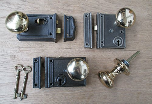 horizontal rim lock set - 9