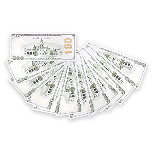 free shipping 200 Pack Play Bills - Prop Money Fake Money Double