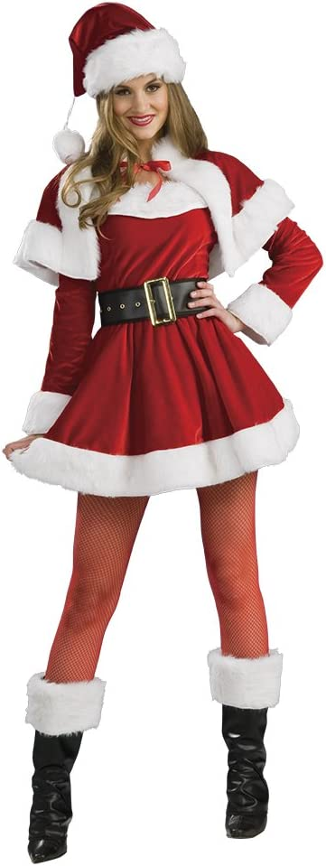 Rubies Disfraz Mama Noel Premium AD: Amazon.es: Juguetes y juegos