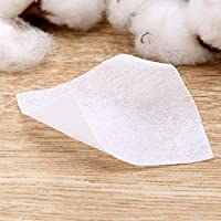 Desmaquillantes faciales 400 unids Almohadillas de algodón ...