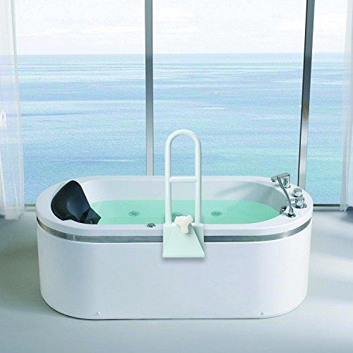Elderly Bathroom: JCMASTER Bathtub Rail Grab Bar, Bathroom Safety Rail For