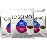 Maxwell House Cafe Collection French Roast, 16-Count T-Discs for Tassimo Brewers (Pack of 3)