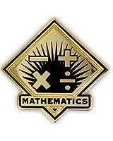 School Lapel Pin - Mathematics