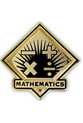 School Lapel Pin - Mathematics