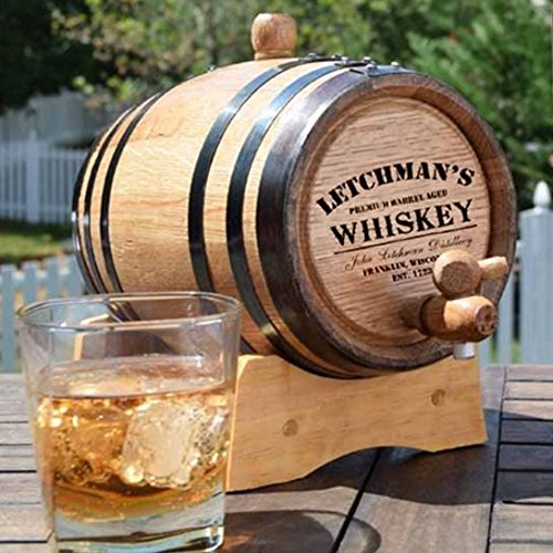 Personal Whiskey Making Kit with Customized Barrel