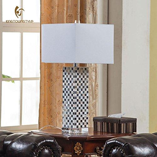 LINA-Stilvolle und kreative Schalen Lampen schlafzimmer bett Lampen modernen minimalistischen Beschaffenheit Studie büro schreibtisch Lampen, groß