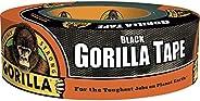 Gorilla 6035180 Duct Tape, 1 Pack, Black