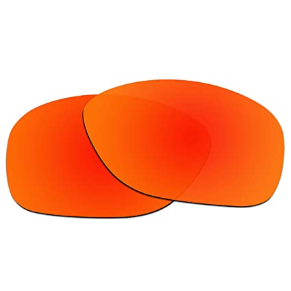5afa6cc66001 ACOMPATIBLE Replacement Lenses for Oakley She s Unstoppable Sunglasses  OO9297 (Fire Red - Polarized)